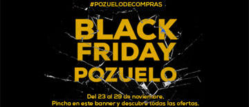 Banner Black Friday Pozuelo